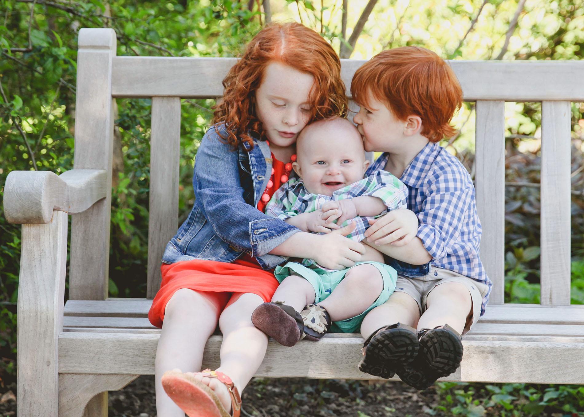 family photo children